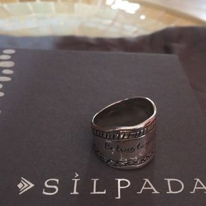 Silpada SS Be True to Your Dreams Ring